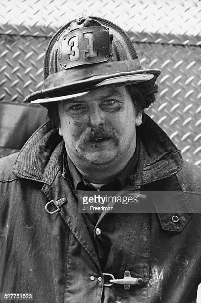 A firefighter USA circa 1980
