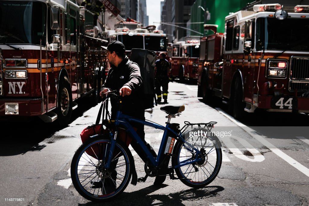 NY: Fire Shuts Down Portion Of Manhattan's Madison Avenue