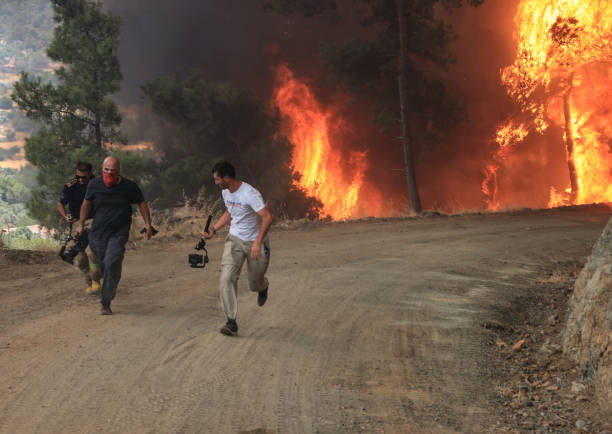 TUR: Turkey Fight Against Forest Fires Continues At Full Pace