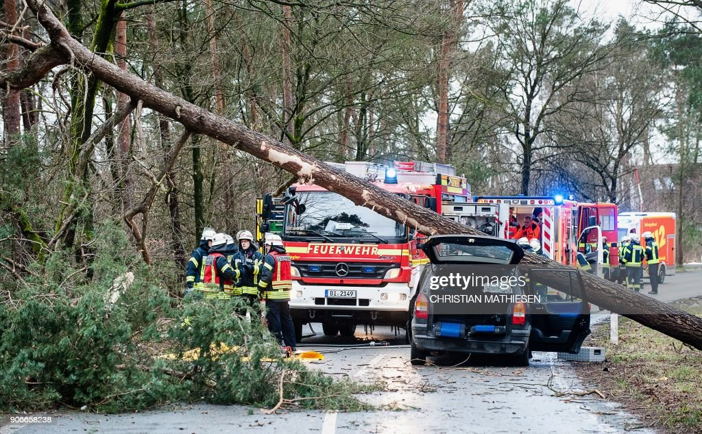 Deadly Storm Wreaks Havoc Across Western Europe