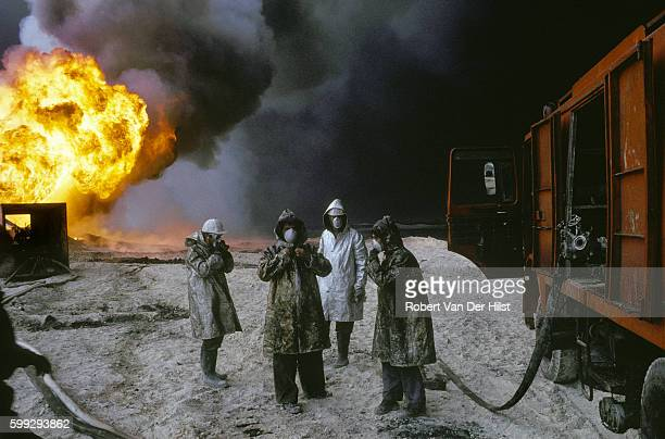 how to become an oil well firefighter
