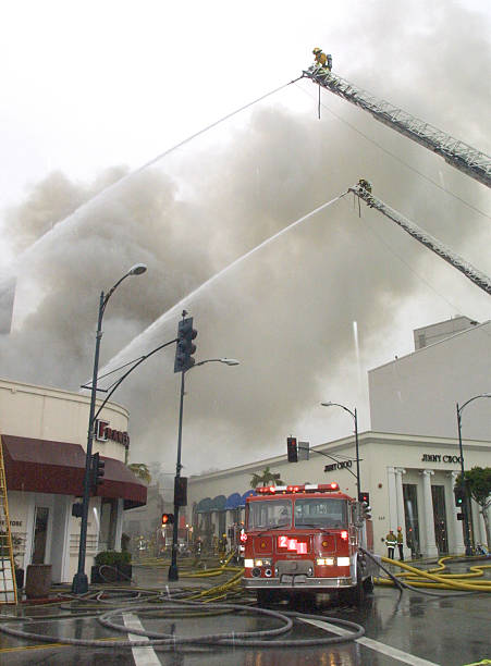 Fire Guts Local Business In Beverly Hills Pictures | Getty Images