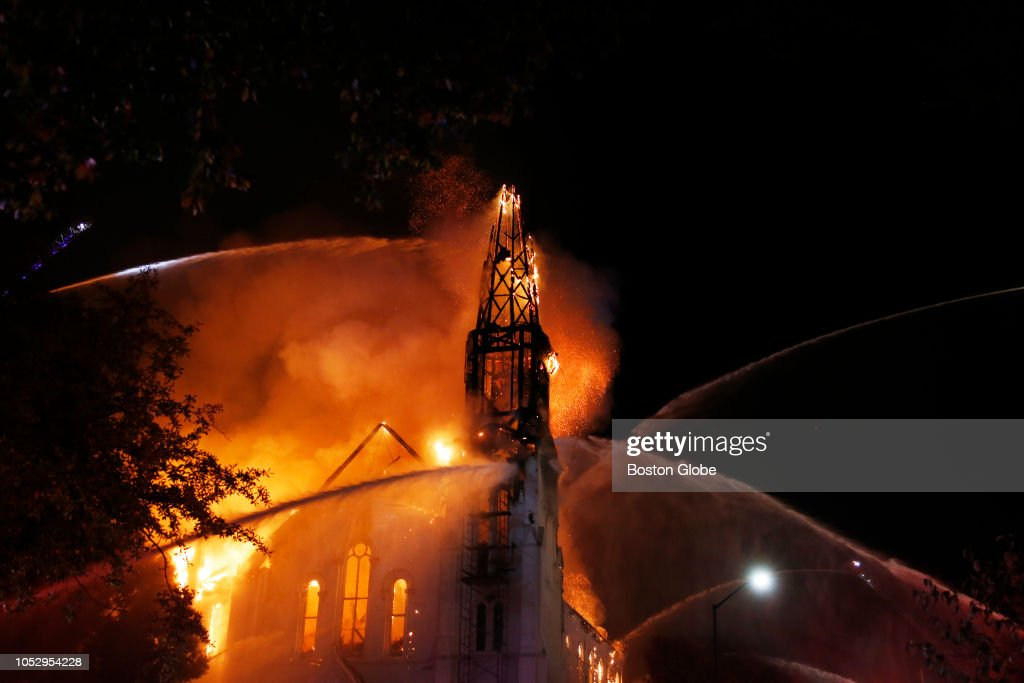 Five Alarm Fire At First Baptist Church In Wakefield News P O