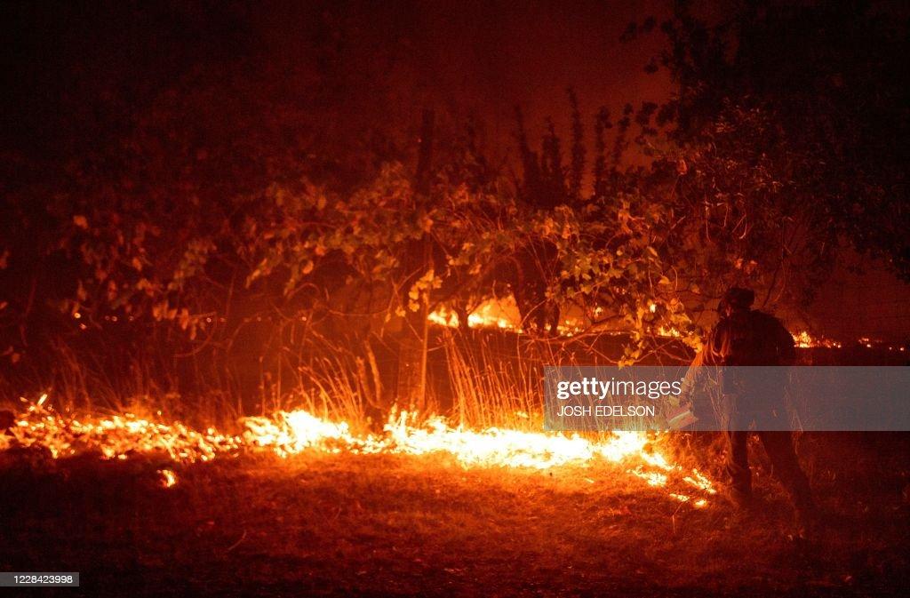 US-CALIFORNIA-FIRE : News Photo