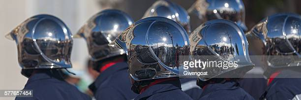 Sapeurs Pompiers during Bastille Day