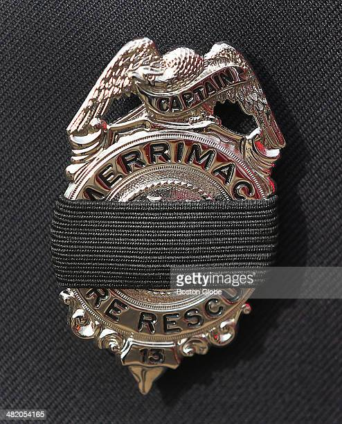 Firefighters from around the country attended the funeral services for Boston Fire Lt Edward J Walsh Jr at St Patrick's Church in Watertown Mass on...