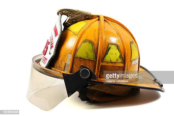 firefighter's helmet - firefighter stock pictures, royalty-free photos & images