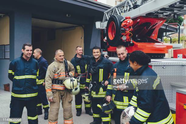 firefighters - rescue worker stock pictures, royalty-free photos & images