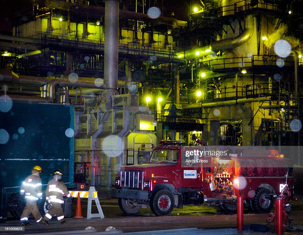 CITY, CO  -- Firefighters responding to Suncor Refinery in Commerce