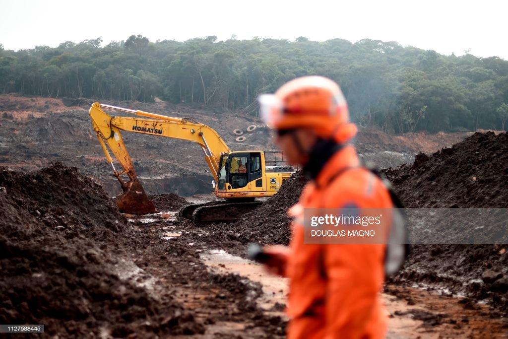 BRAZIL-ACCIDENT-DAM-COLLAPSE-AFTERMATH : Fotografia de notícias