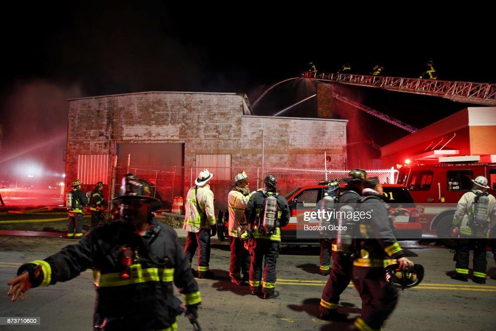 Multiple Alarm Fire In East Boston