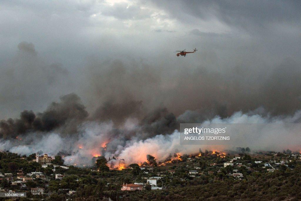 GREECE-FIRE : News Photo