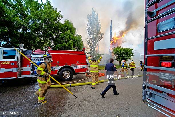 Firefigters Rushing In