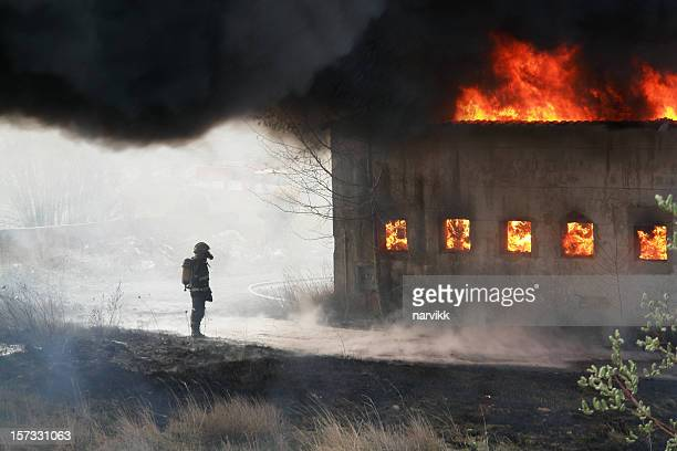 Fireman and Fire