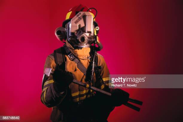 Fireman at Fire and Rescue Academy