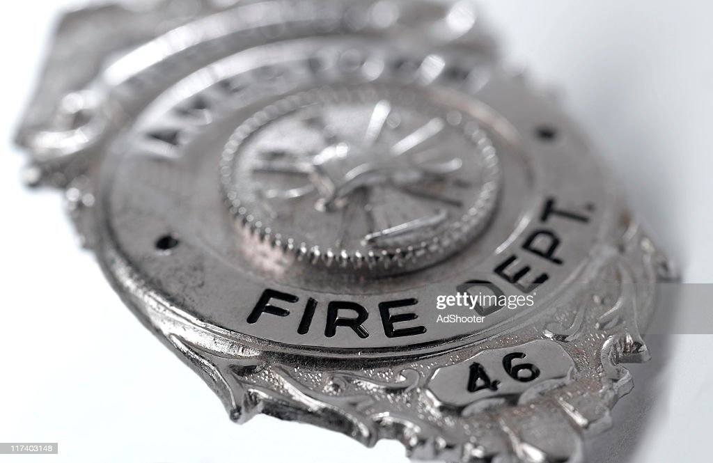 Fireman Badge : Stock Photo