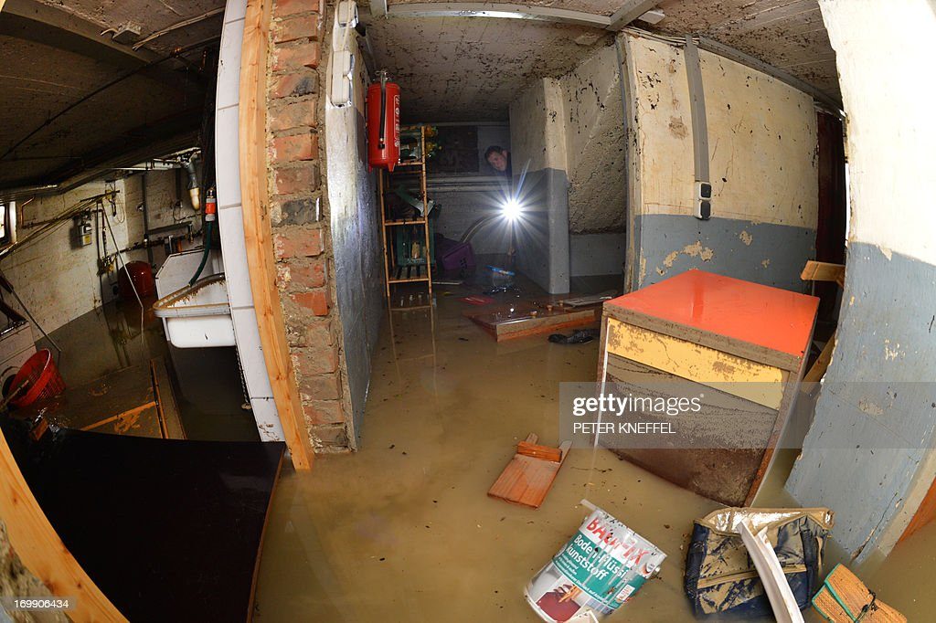 GERMANY-FLOODS : News Photo