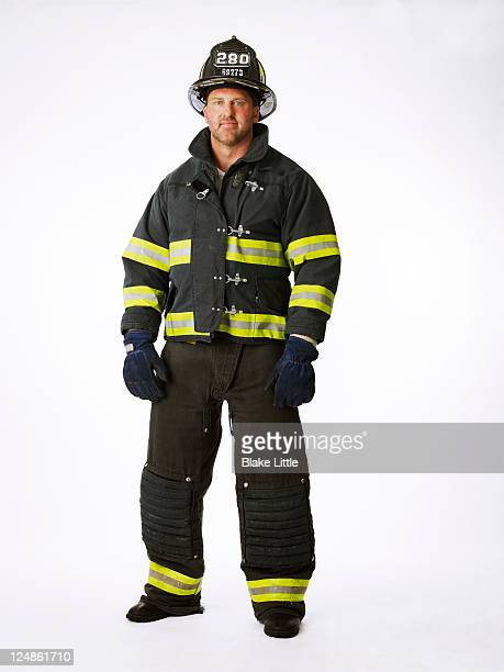 Fireman in Uniform