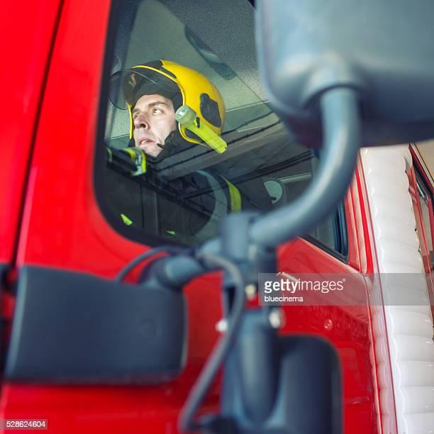 Fireman'prêt pour l'action