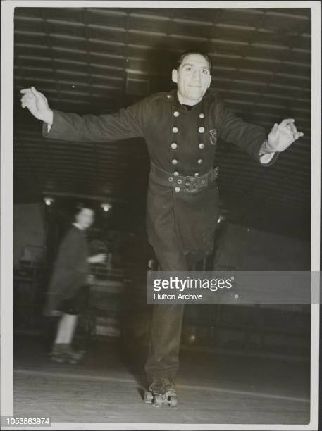 Fireman Skater Fireman Simon Samuels in peace time Roller Skating Champion keeps his hand in during off hours Five months ago he was injured whilst...