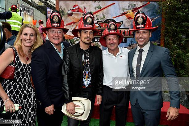 Fireman's Fund Insurance Company Brand Manager Brand Marketing Shoni Honodel Executive producer John Lasseter singer/songwriter Brad Paisley...