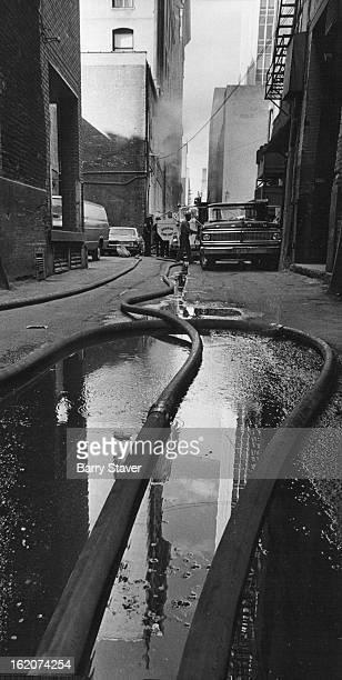 JUN 15 1972 JUN 16 1972 Firemen Crowded In