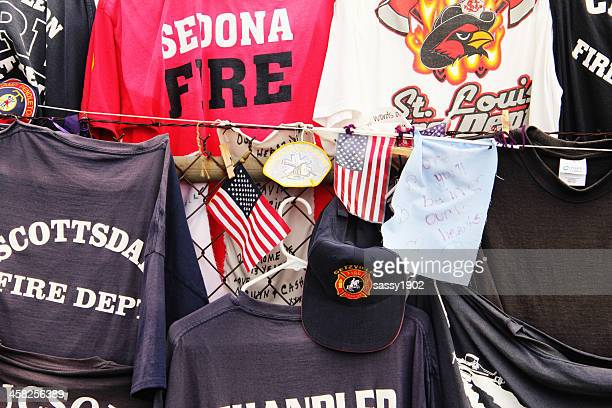 Pompiers Hot Shots t-Shirts de Prescott