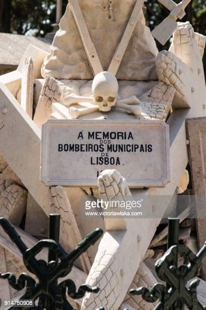 Firemen Memorial at Cemiterio dos Prazeres