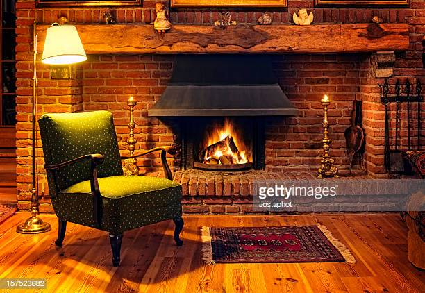fireplace - warming up stock pictures, royalty-free photos & images