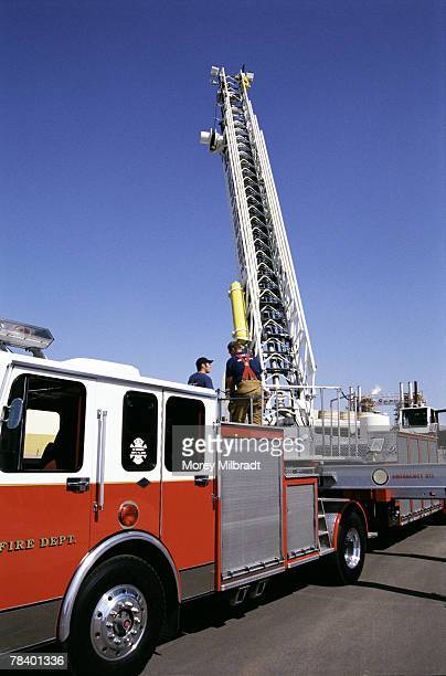 Firetruck with ladder