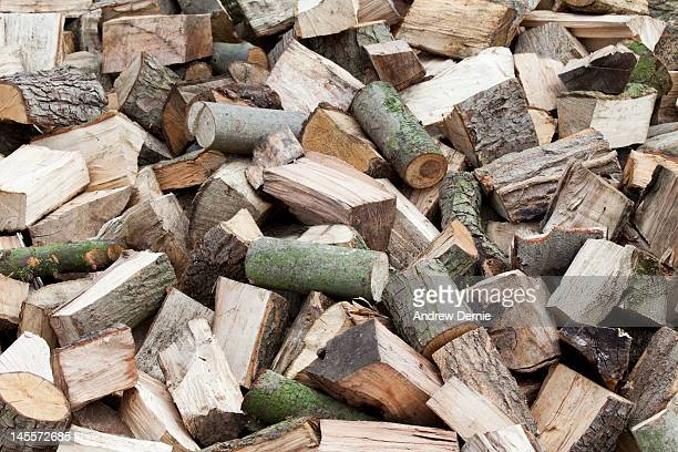 firewood logs - andrew dernie stock pictures, royalty-free photos & images