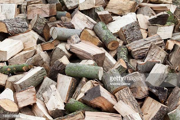 firewood logs - andrew dernie stockfoto's en -beelden
