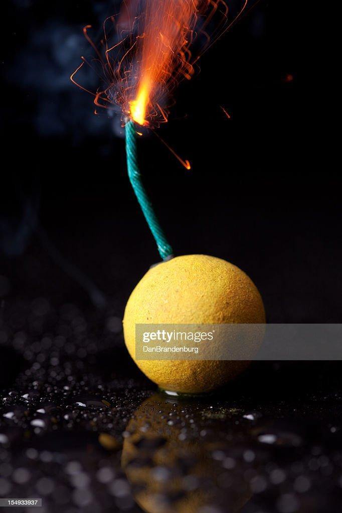 Firework Bomb : Stock Photo