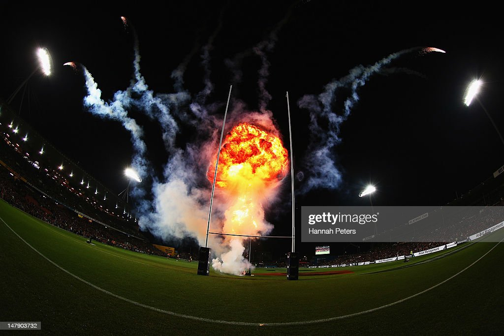 Super Rugby Rd 17 - Chiefs v Crusaders : ニュース写真