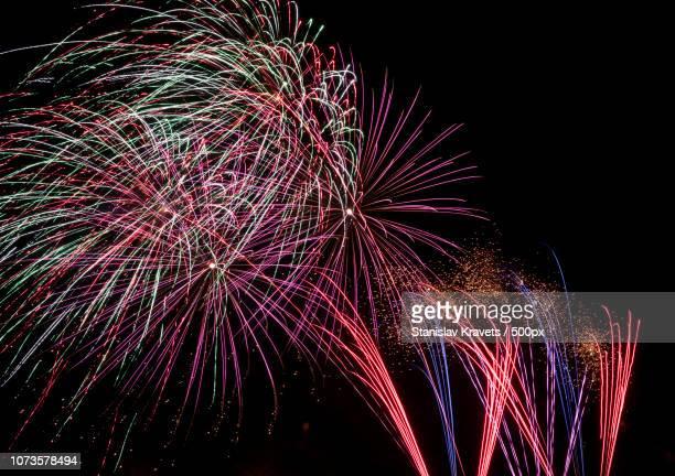 fireworks at coney island NYE2016