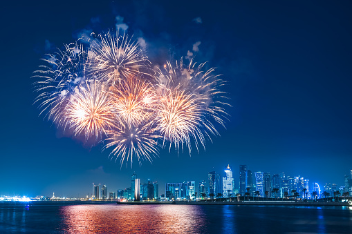 Fireworks at Front Row - gettyimageskorea