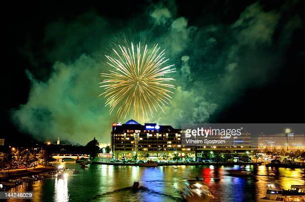 Fireworks at Hakaniemi