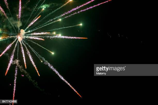 Fireworks at New Year´s Eve - Munich, Bavaria, Germany
