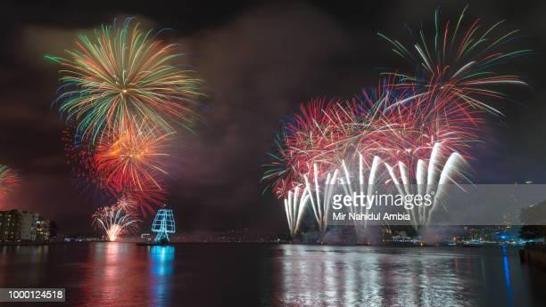 Fireworks at Sydney Opera