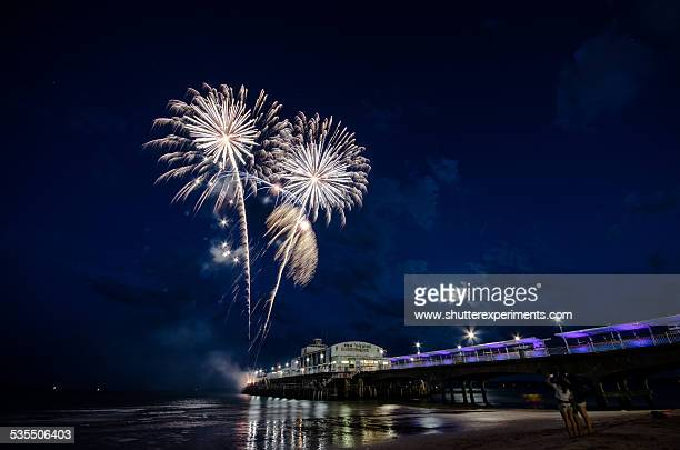 Fireworks at the Pier