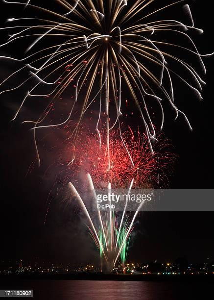 Fireworks at Yokohama Port