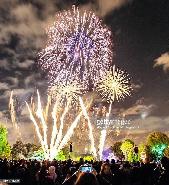 Fireworks Battersea Park London UK