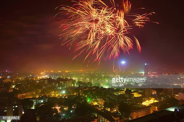 Fireworks celebrate