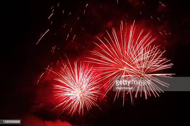 Feuerwerk in der Nähe