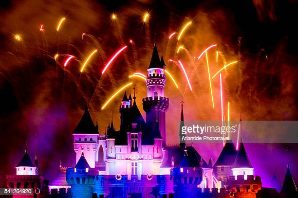 Firework's Display at Hong Kong Disneyland