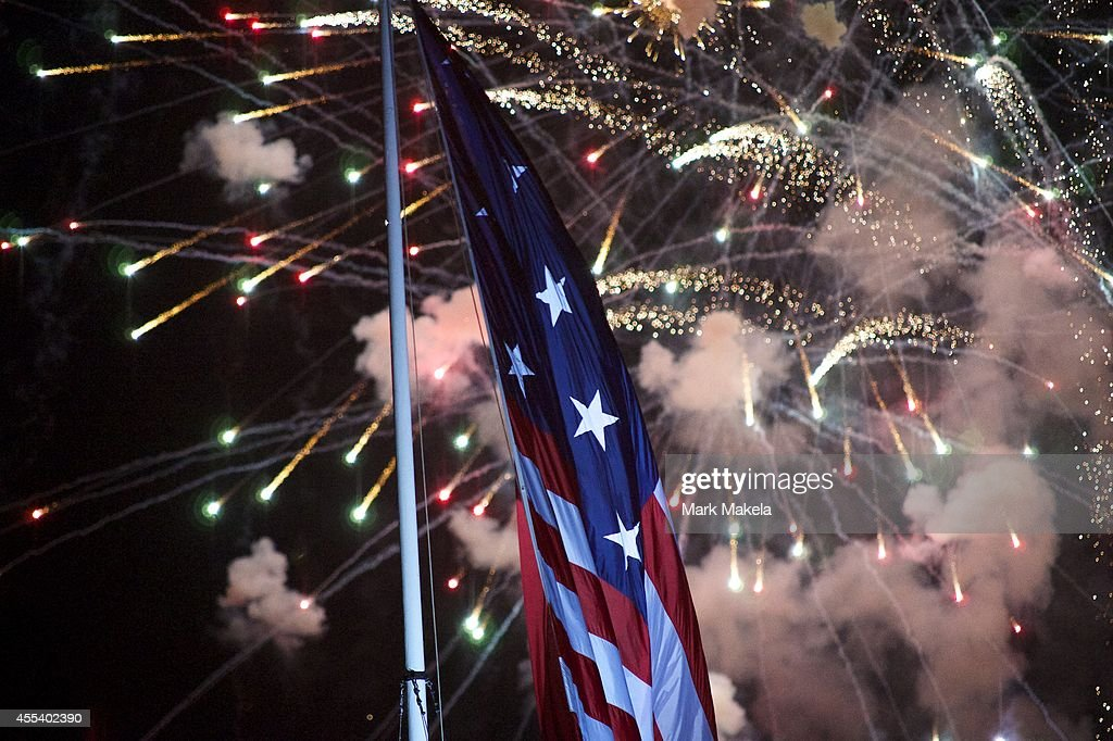 Baltimore's Fort McHenry Celebrates 200th Anniversary Of Star-Spangled Banner : News Photo