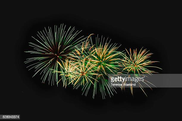 fireworks display; london, england - terence waeland stock pictures, royalty-free photos & images