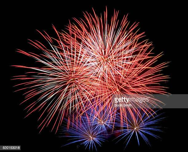 fireworks display - firework display stock pictures, royalty-free photos & images
