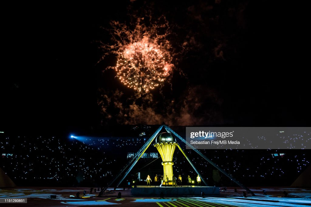 Egypt v Zimbabwe: Group A - 2019 Africa Cup of Nations : News Photo