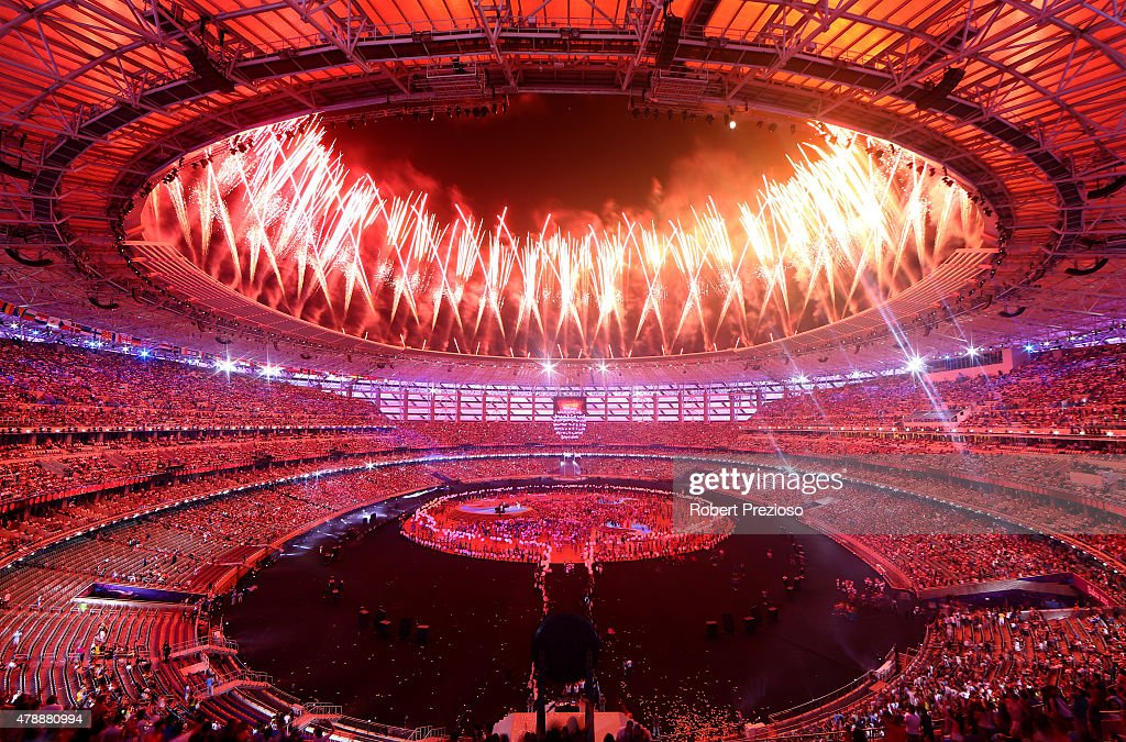 Closing Ceremony: Baku 2015 - 1st European Games : Foto jornalística